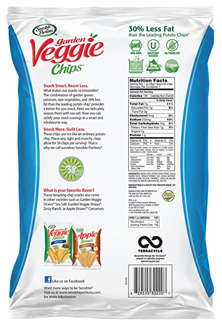 Garden Veggie Straws Nutrition Facts Fasci Garden
