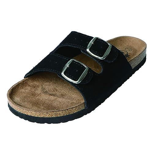 ba852ff42a346 Amazon.com   Northside Womens Mariani Leather Strap Cork Sandal   Slides
