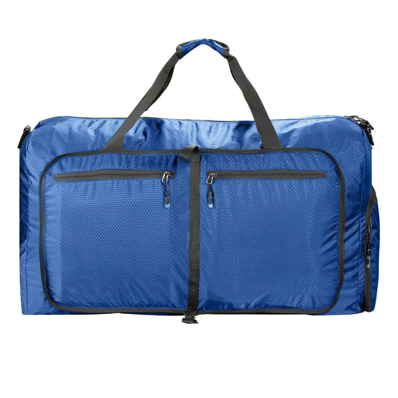 2039de25ece3 80L Travel Duffle Bag Large Size,Foldable Lightweight Gym Sports  Duffle,Large Camp Duffle Bag Waterproof