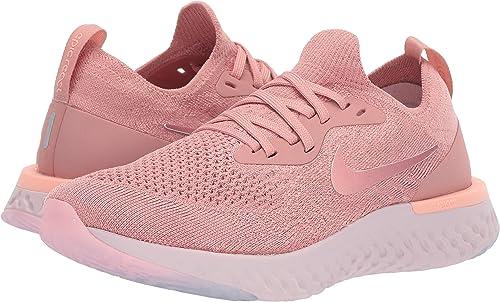 Nike Wmns Epic React Flyknit, Zapatillas de Entrenamiento para Mujer, Rosa (Rust Pink/Pink Tint/Tropical P 602), 40 EU: Amazon.es: Zapatos y complementos