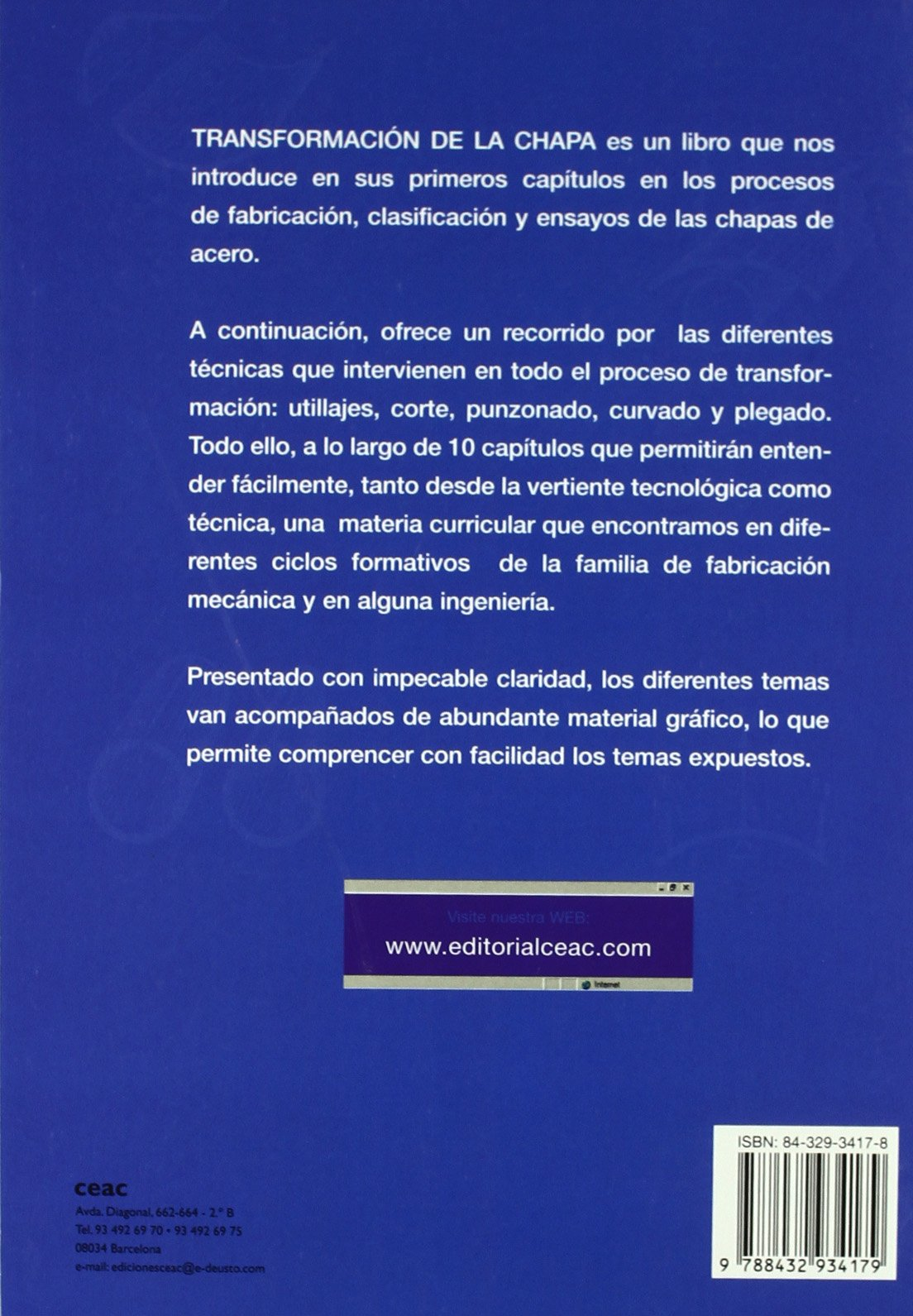 Transformacion de la chapa: Charles Lobjois: 9788432934179: Amazon.com: Books