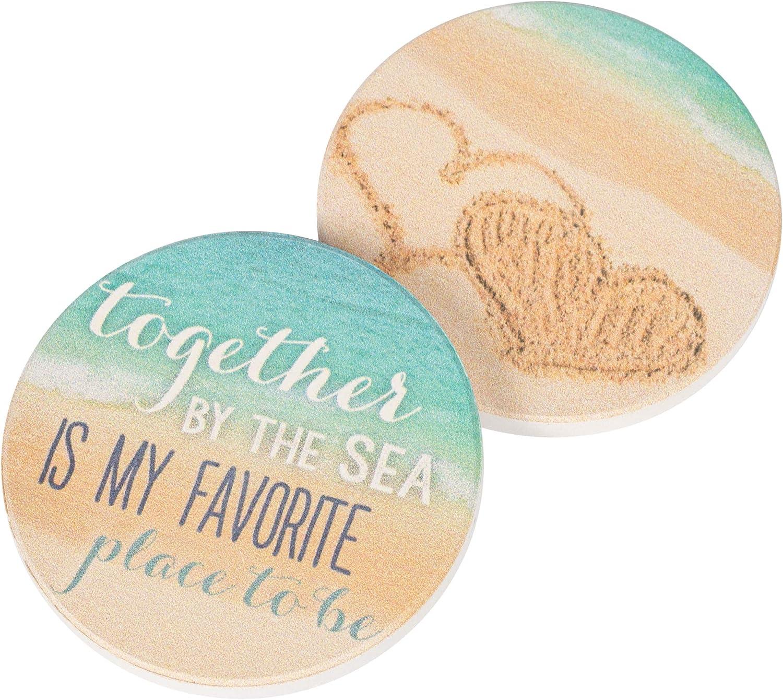Ocean Wave Coasters-Set of 2