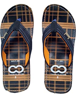 forefront of the times popular brand innovative design Svaar Men Orange Outdoor Slippers: Amazon.in: Shoes & Handbags