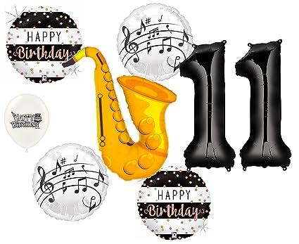 Amazon.com: Globos de saxofón instrumento musical 11 ...