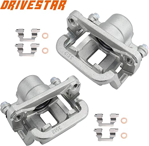 DRIVESTAR 19B2793A Right Rear Brake Calipers for Selected 2005-2008 Infiniti G35,2009-2010 Infiniti G37,2006-2009 Infiniti M35,2006-2009 Infiniti M45 2006-2009 Nissan 350Z,2009 Nissan 370Z
