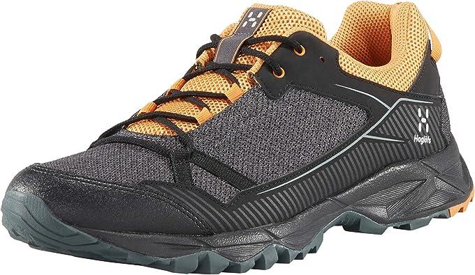 Haglöfs Trail Fuse, Zapatillas de Cross para Hombre, Negro (True Black/Desert Yellow 4c9), 46 2/3 EU: Amazon.es: Zapatos y complementos