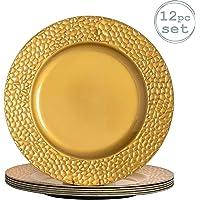 Argon Tableware Juego de bajoplatos Redondos -