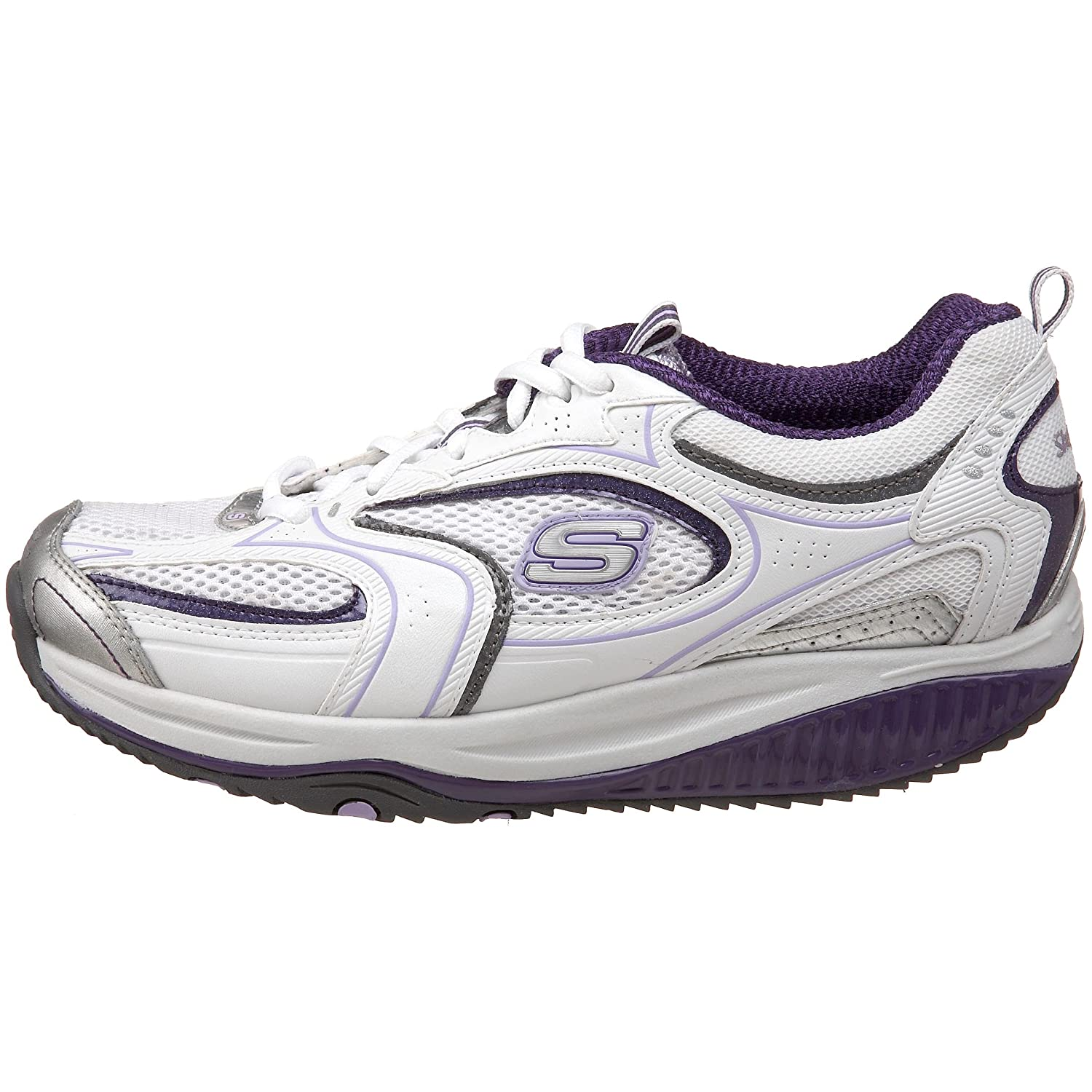 Skechers Shape Ups Xf Accelerators Damen, WhitePurple, 37.5 zpn0M