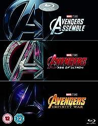 Avengers 1-3 Boxset [Blu-ray] [2018] [Region Free]