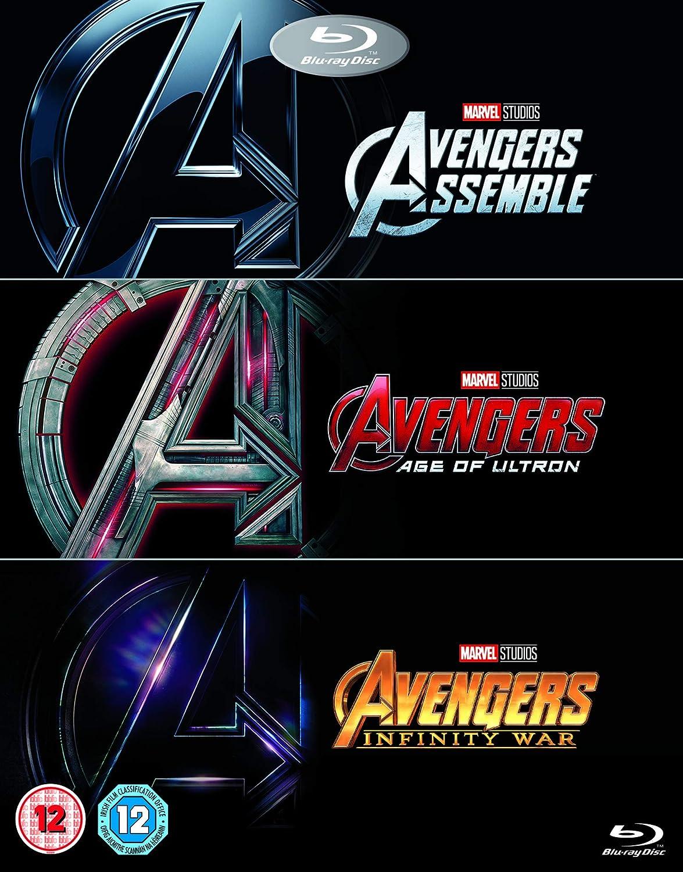 Avengers 1-3 Triplepack [Italia] [Blu-ray]: Amazon.es: Cine y ...