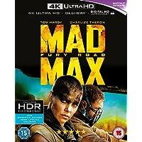 Mad Max: Fury Road (4K UHD + Blu-ray + Digital HD + UV) (2-Disc Box Set) (Region Free + Slipcase Packaging + Fully Packaged Import)
