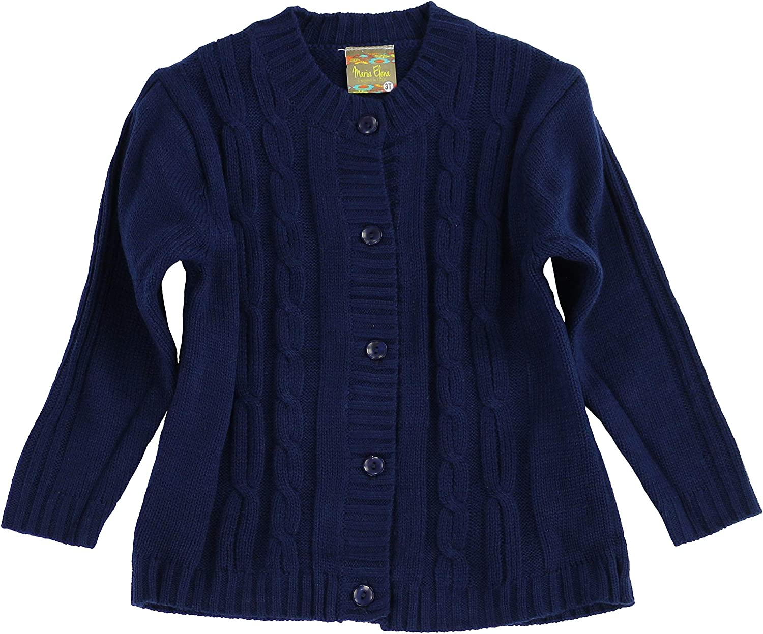 Toddlers and Girls 2-7//8 MARIA ELENA Jackie Cable Knit Cardigan
