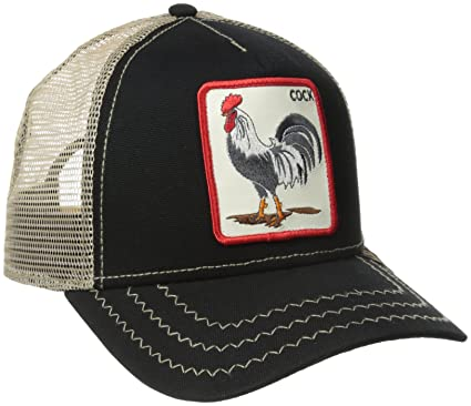 4326679eedf952 Goorin Bros. Men's Rooster Hat, Black, One Size at Amazon Men's Clothing  store: