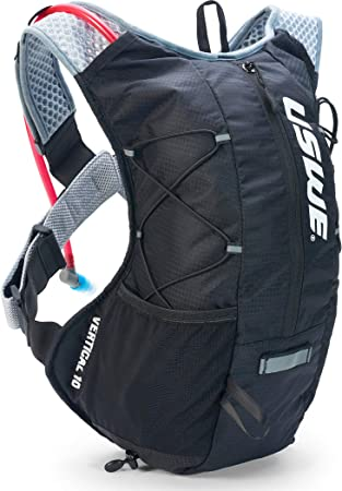 USWE Sports Vertical 10 Hydration Pack, Color Negro, tamaño S-XL ...