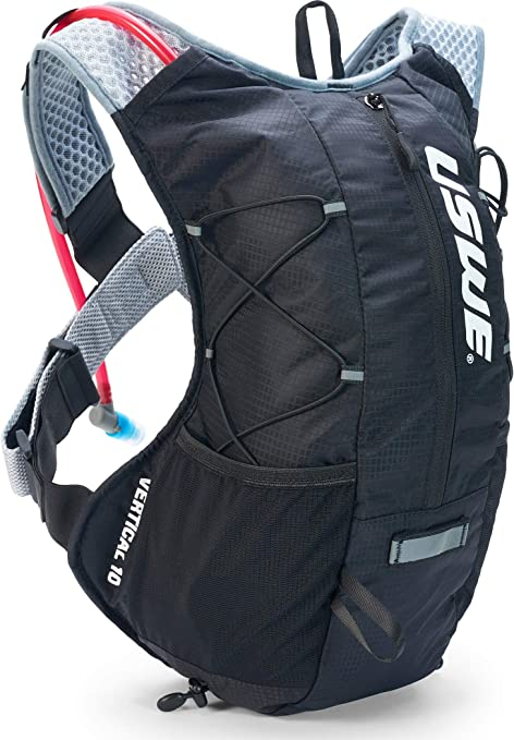 Uswe Sports Unisex Vertical 10 Hydration Backpack Without Bubble Black L Bekleidung