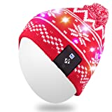 Amazon Price History for:Qshell Stylish LED String Light Up Beanie Hat Knit Cap with Copper Wire Colorful Lights 4 feet 18 LEDs for Men Women Indoor and Outdoor, Festival, Holiday, Celebration, Parties, Bar, Christmas Gifts