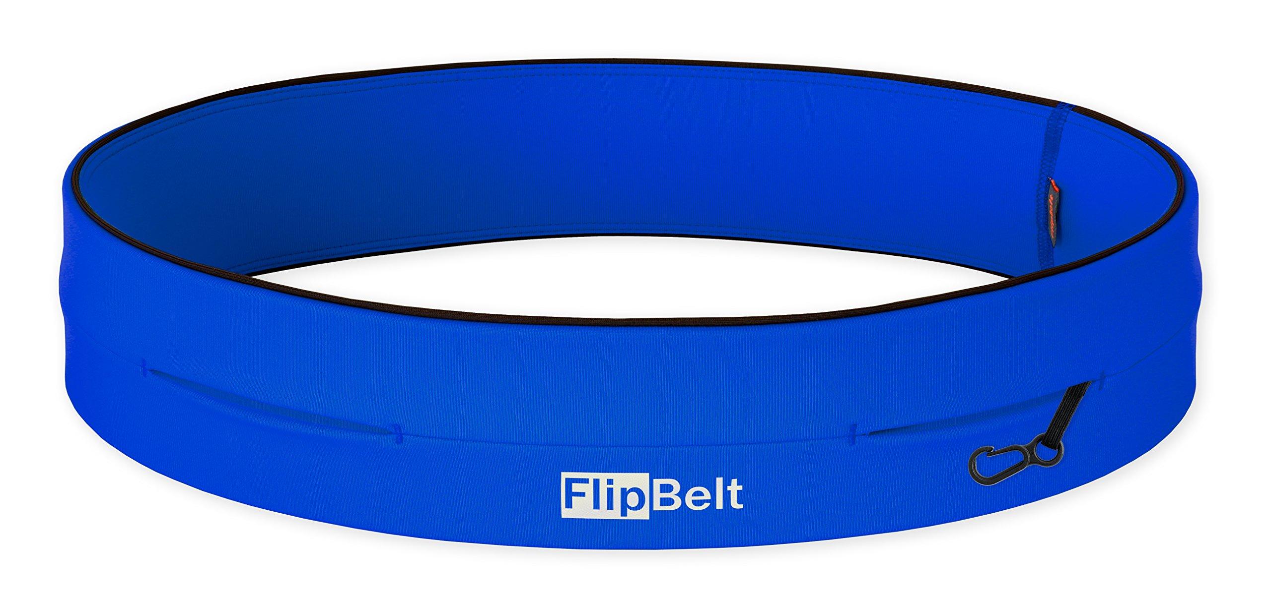 FlipBelt Level Terrain Waist Pouch, Royal Blue, X-Small/22-25