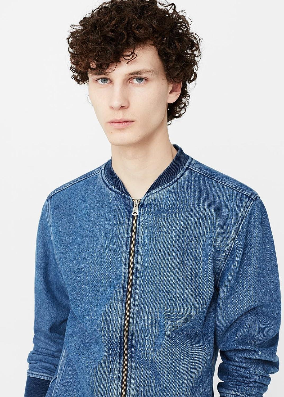 MANGO MAN - Chaqueta - para hombre azul azul (medio) Medium ...