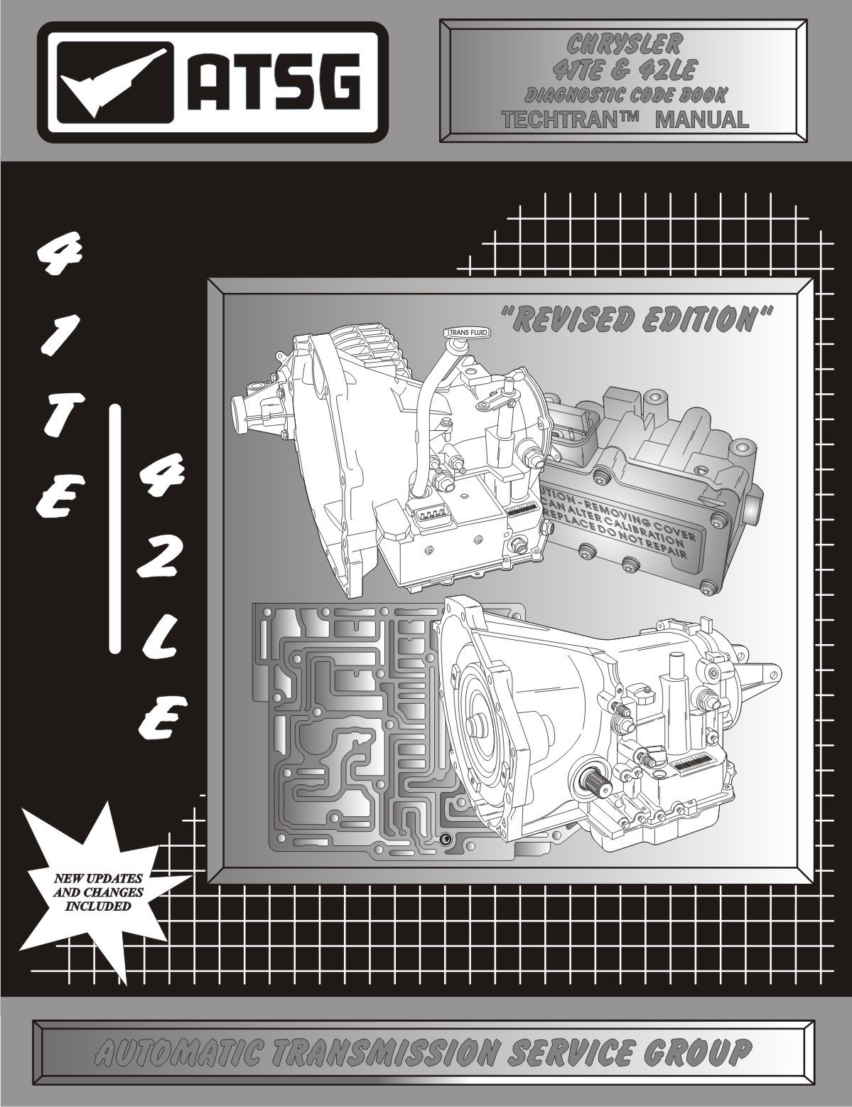 Download Chrysler, Dodge, Mitsubishi 41TE (A604) / 42TE (A606) Transmission Diagnostic Code Book pdf