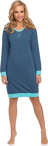 TALLA M. Cornette Camisón Vestido de Casa Mujer 652 2016