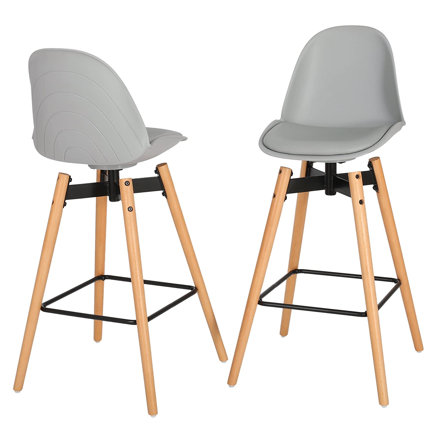 Amazon Piper Modern Counter Height Kitchen Bar Stool Chair