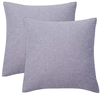 Amazon.com: PHF Cotton Matelasse Weave Euro Sham Cover ...