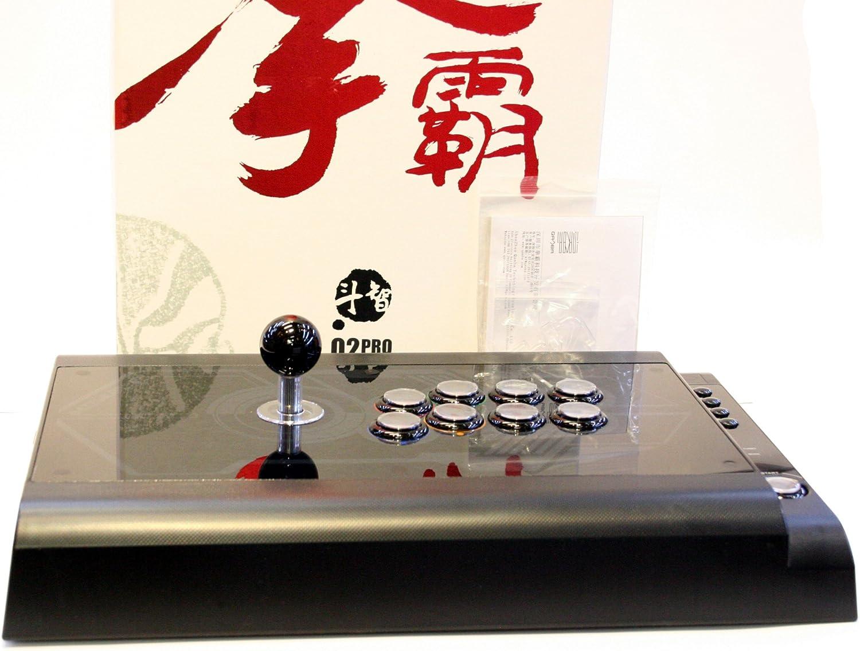 qanba Q2 Pro LED negro PS3/PC Joystick Arcade Fightstick ...