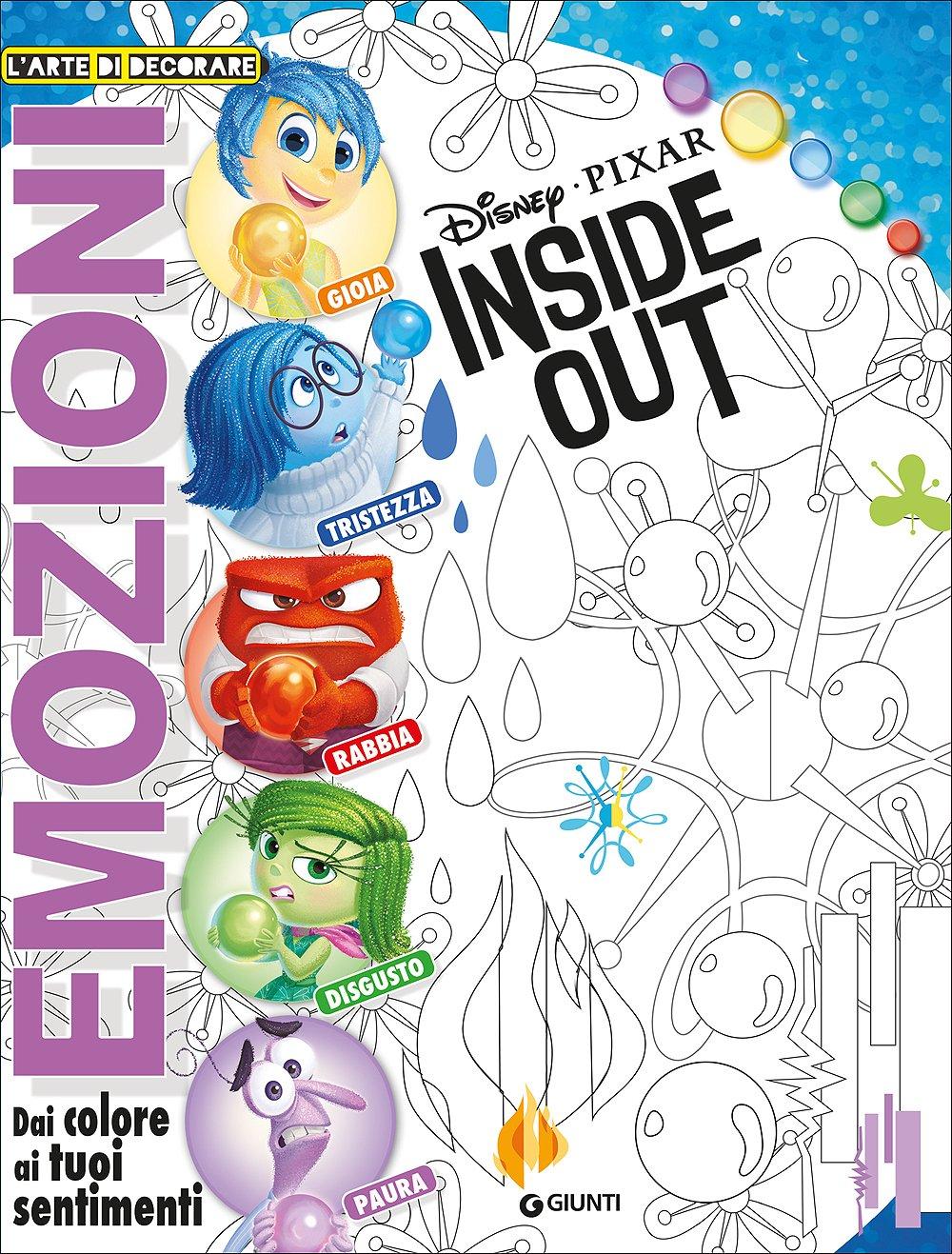 Inside Out L Arte Di Decorare Emozioni Amazon It Aa Vv Libri