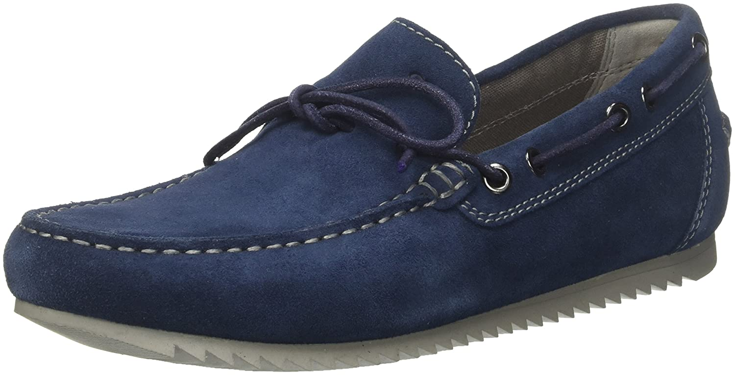 Geox UOMO U Shark un Mocassini Blu Royal 10.5 UK