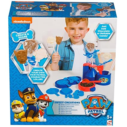 Paw Patrol Sweet Creations Chocolate Lolly Maker