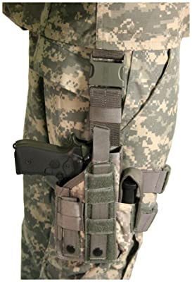 BLACKHAWK! Omega VI Ultra Universal Modular Light Holster, Olive Drab