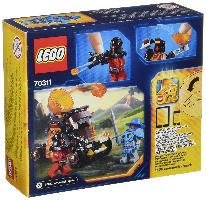 Chaos Lego Jeu De La Catapulte Du Knights Construction Nexo 70311 v8w0nNm