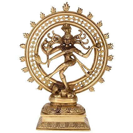 Buy Bagru Crafts Nataraja Shiva Dancing Statue Online at Low Prices