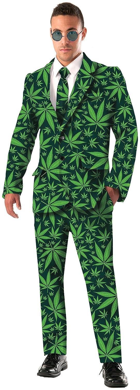 Amazon.com: Forum Novelties Men\'s Joint Venture Suit Cannabis ...