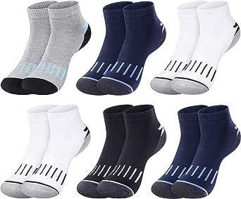 L&K Pack de 6 Calcetines Socks para hombre algodón unisex invierno 92264