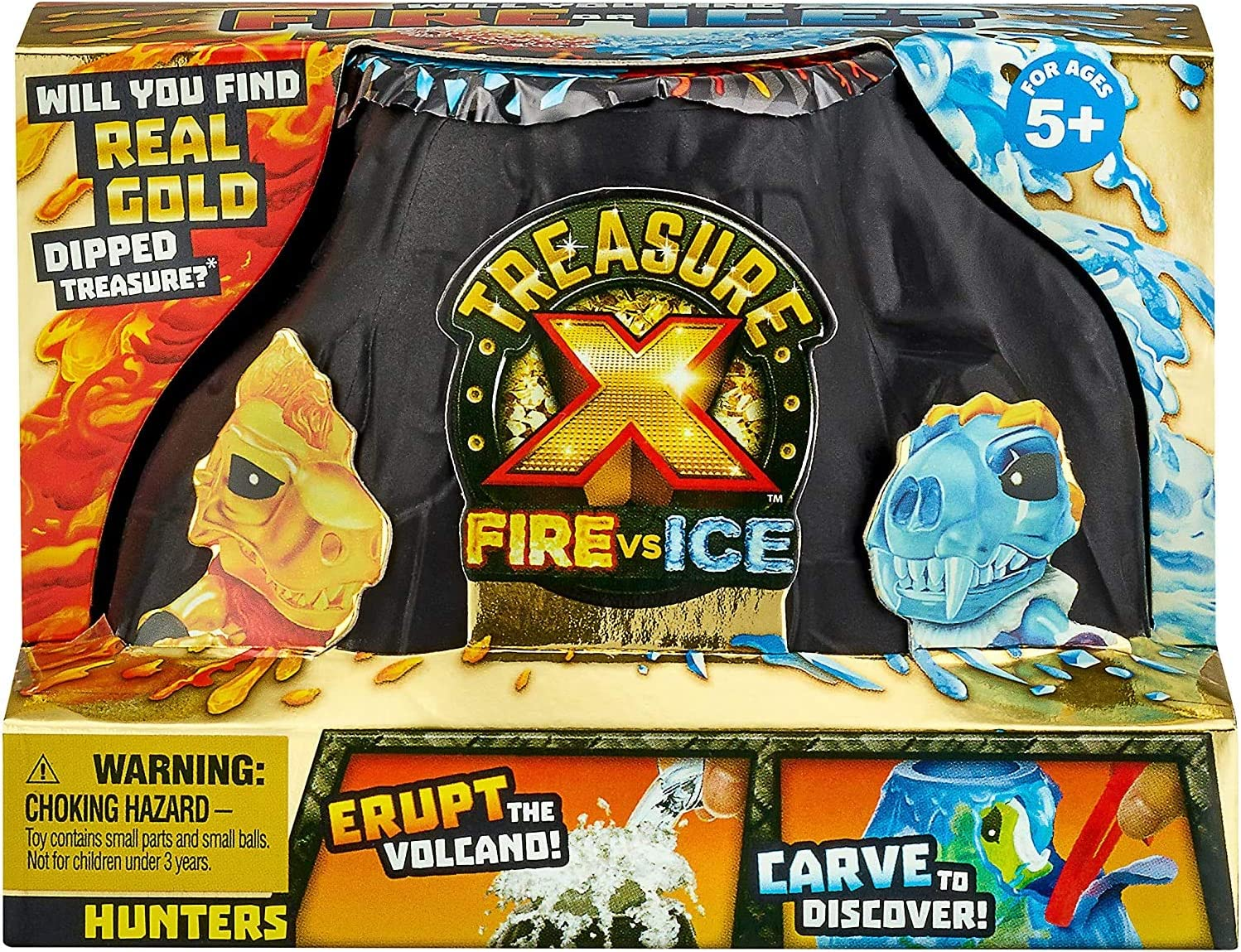 Treasure X Fire vs Ice Hunter Pack