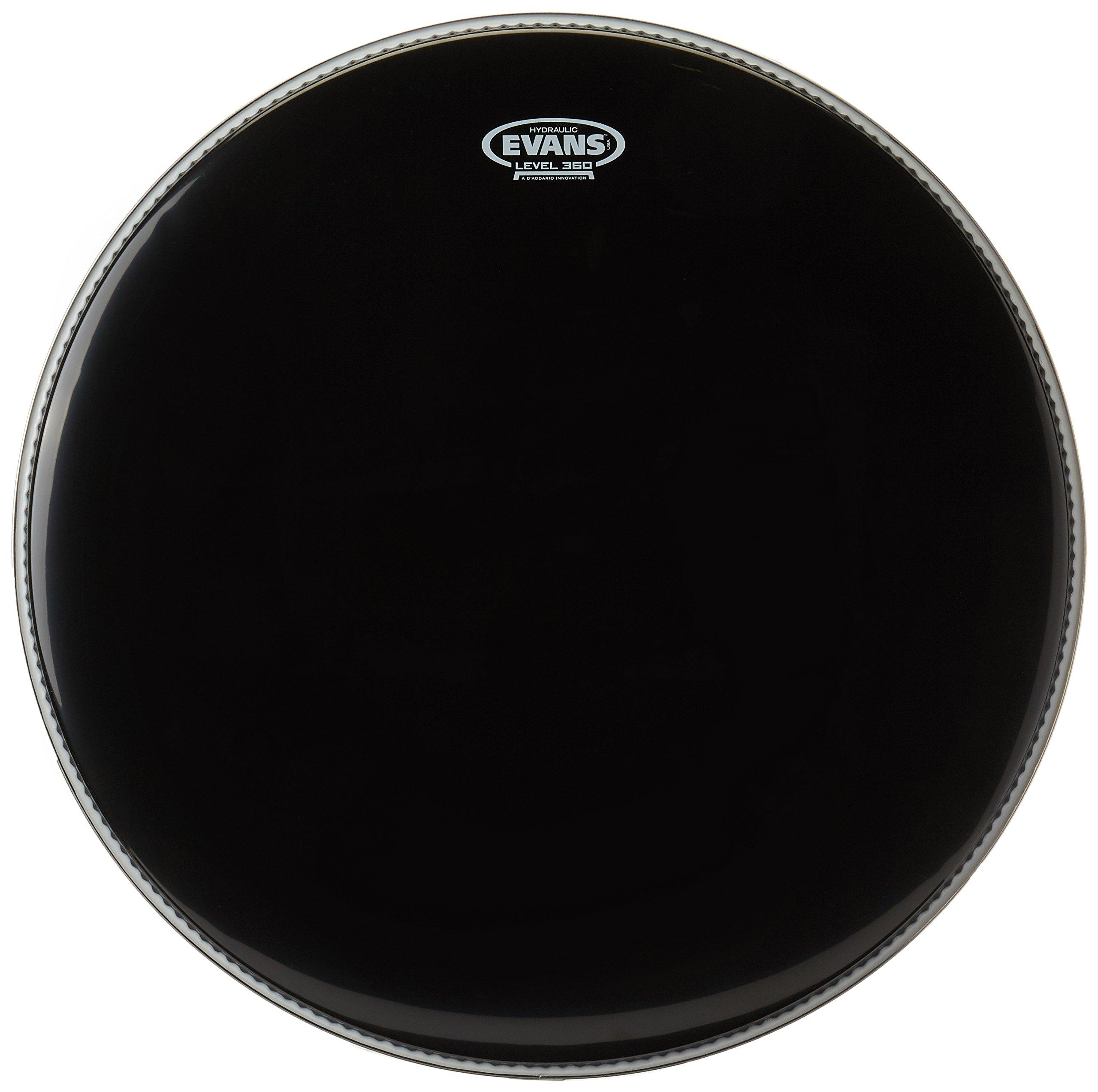 galleon evans black hydraulic bass drum head 22 inch. Black Bedroom Furniture Sets. Home Design Ideas