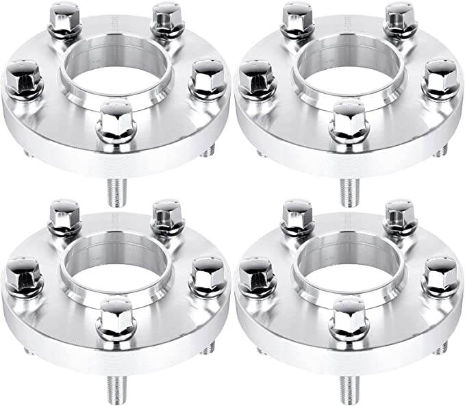 10 X 45mm TUNER BOLTS FITS AUDI M14X1.5 66.6 20mm SILVER HUB CENTRIC SPACERS