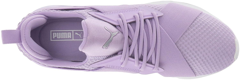 PUMA Women's Muse En Pointe WN's Sneaker Rose-puma B076KQNB4V 7.5 B(M) US|Purple Rose-puma Sneaker White 67daa3