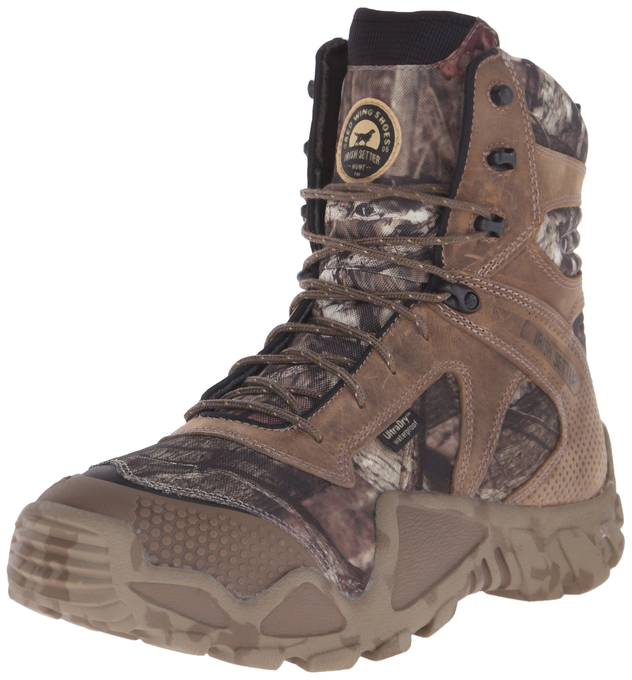 Irish Setter Men's 2868 Vaprtrek Waterproof 8'' Hunting Boot, Mossy Oak Break Up Infinity Camouflage,9.5 EE US by Irish Setter (Image #1)