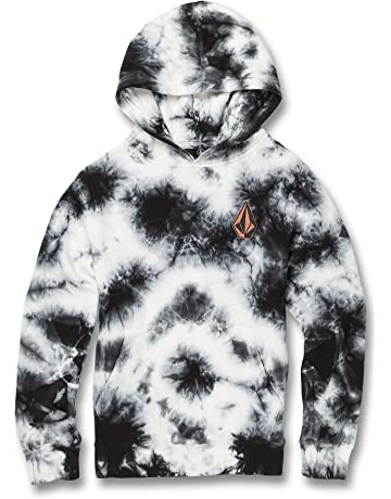 15688ba21 Volcom Big Boys Deadly Stones Pullover Hooded Sweatshirt