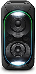 Sony GTKXB60/B High Power Portable Wireless Bluetooth Speaker, Black