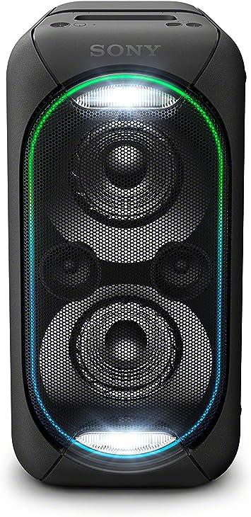 Amazon Com Sony Gtkxb60 B High Power Portable Wireless Bluetooth Speaker Black Electronics