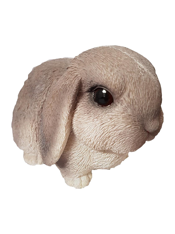 Figura Decorativa de Conejo para Mascotas Gris Vivid Arts Pals PP-LR01-F