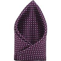 TIE ON Men's Designer Neck Pocket Square_Purple