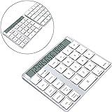 Alcey 充電式ワイヤレス テンキー/電卓(iMac, MacBook Air, MacBook Pro, MacBook, Mac Mini,PCsなど用)