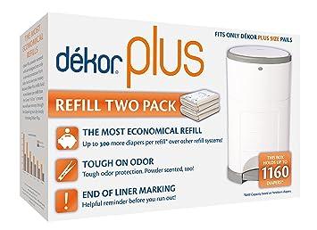 Amazon.com: Dekor Plus - Recambios para pañales, Original ...