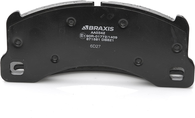 BRAXIS AA0308 Plaquette de Frein Avant
