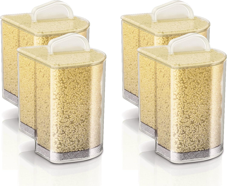 Philips GC004/00 - Cartucho antical PerfectCare Pure, elimina el 99% de la cal, paquete con 4 cartuchos