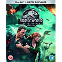 Jurassic World: Fallen Kingdom (Blu-ray + Digital Download) [2018] [Region Free]